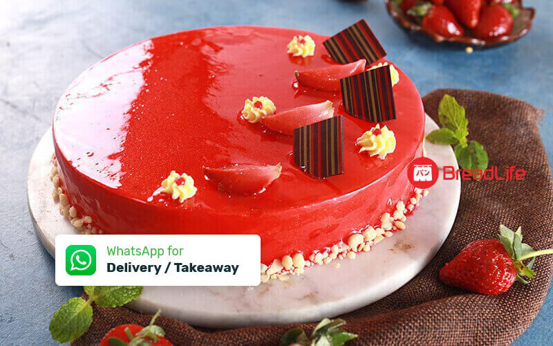 1 Modern Cake (Whole Size) - Take Away & Delivery