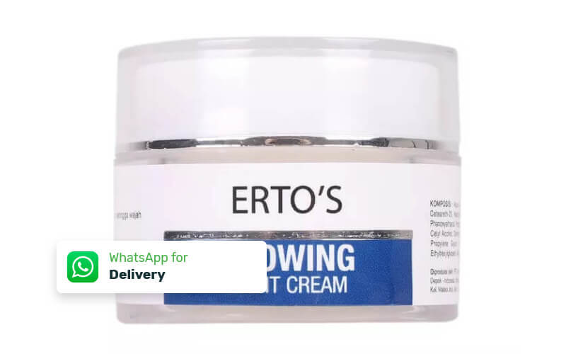 Free Delivery - Erto's Glowing Night Cream