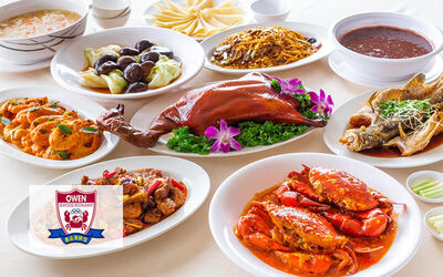 9-Course Peking Duck and Crab Set for 10 People