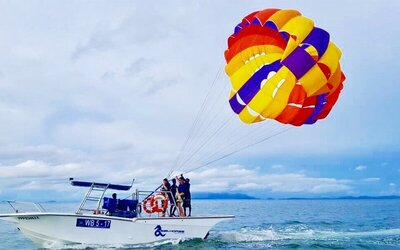 Winch Boat Parasailing for 2 People