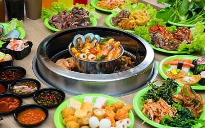 (Mon-Fri) Korean Dinner Buffet for 1 Adult