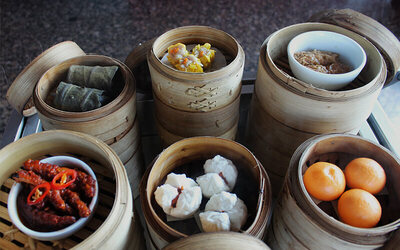 All You Can Eat Dim Sum + Shabu - Shabu + Dessert + Free Flow Chinese Tea