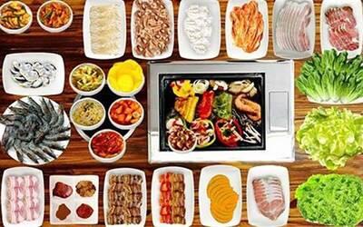 (Fri - Sun, and PH) Korean Dinner Buffet for 1 Adult