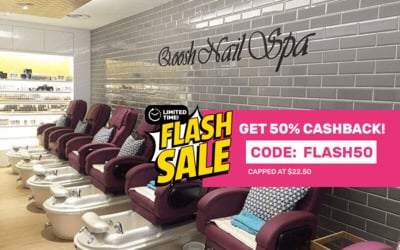[Flash] Gel Manicure and Classic / Gel Pedicure with Return Soak-Off for 1 Person