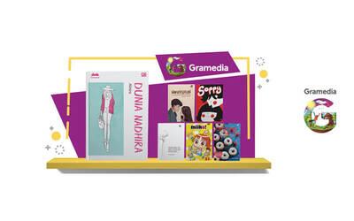 Voucher Value Senilai Rp 50.000 untuk Pembelian Buku