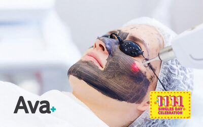 [11.11] 1.5-Hour Black Pearl Laser Treatment for 1 Person