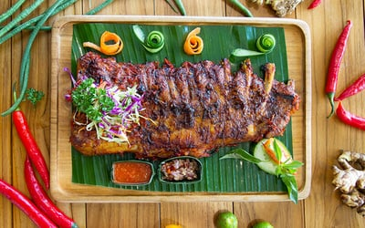 [#MondayMadness] Pork Ribs (800gr) for 1 Person
