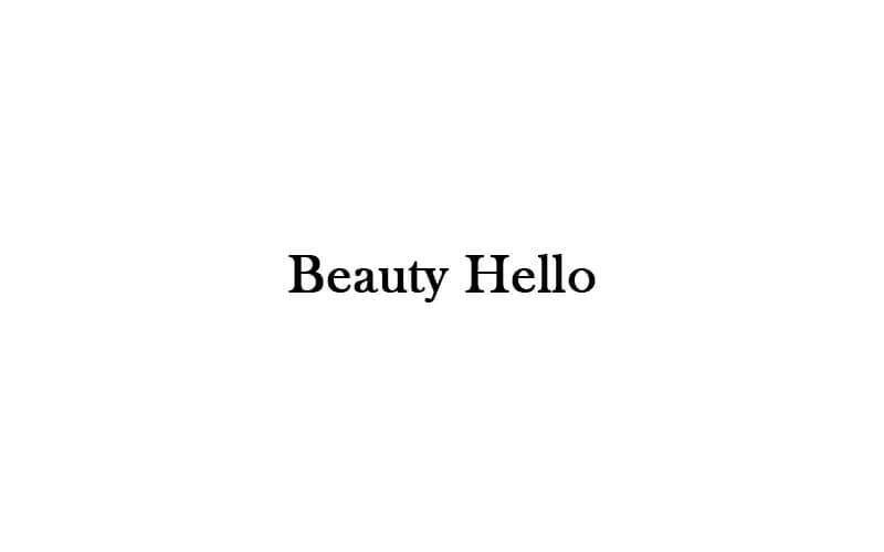 Beauty Hello featured image.