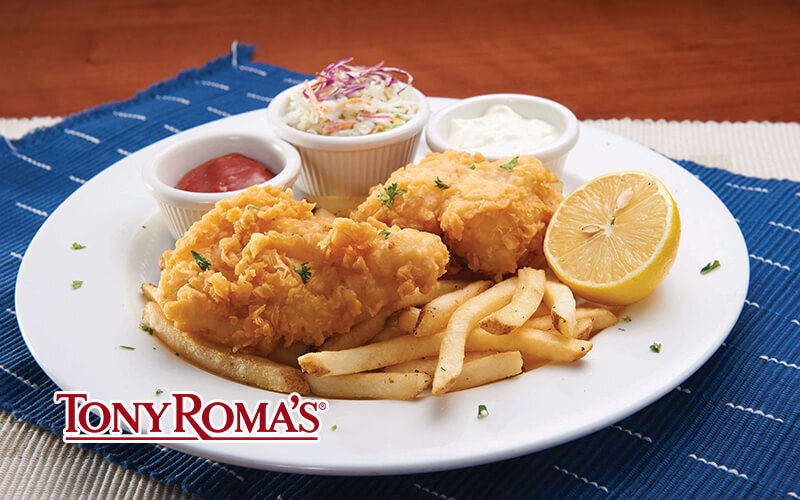 [Fave Exclusive] Tony Roma's Special Meal for 1 Person