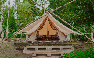 Bali: 2D1N in Glamping for 1 Person