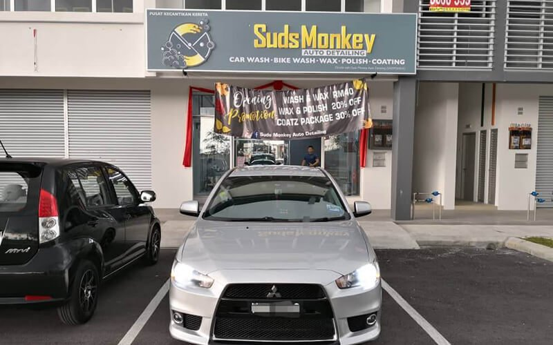 SUDS MONKEY AUTO DETAILING featured image.