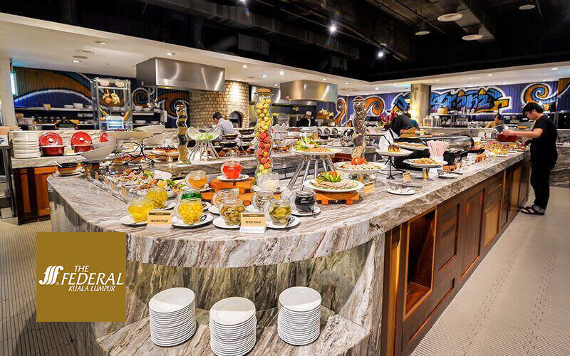 Federal Hotel: BBQ and Seafood Buffet Dinner for 1 Person