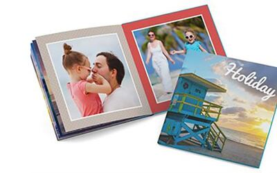 "8"" x 11"" Medium Portrait Softcover Photobook, 40 Pages"