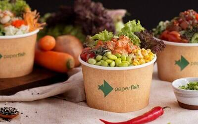 Sashimi Salmon Poké Bowl with Unlimited Toppings for 1 person