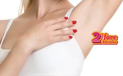 [#FaveBday] Buy 1 Get 1 Aura Total Underarms Hair Free Treatment (45 Menit)