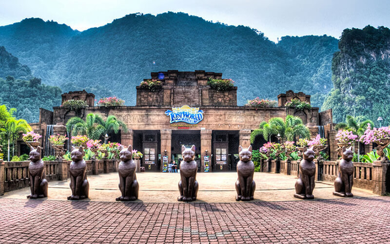 Admission to Lost World of Tambun for 1 Adult (Non-MyKad Holder)
