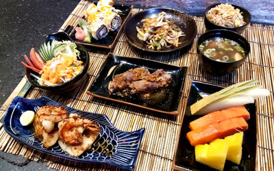 Set Menu Authentic Japanese Live Cooking / Teppanyaki untuk 2 Orang