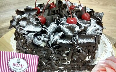 Whole Black Forest Cake