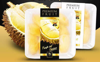 1-for-1 Pahang Red Prawn Durian