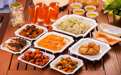 Indian Cuisine Meal for 4 People