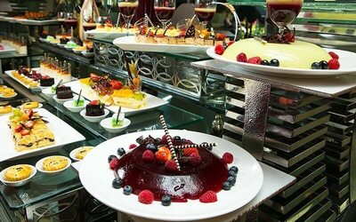 (Sat-Sun) Halia Weekend Hi-Tea Buffet for 1 Person