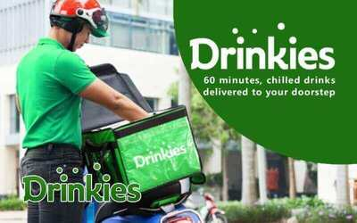 [Payday] RM25 Cash Voucher for Drinks from Drinkies.my
