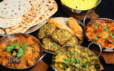 North Indian Lunch Buffet for 2 People