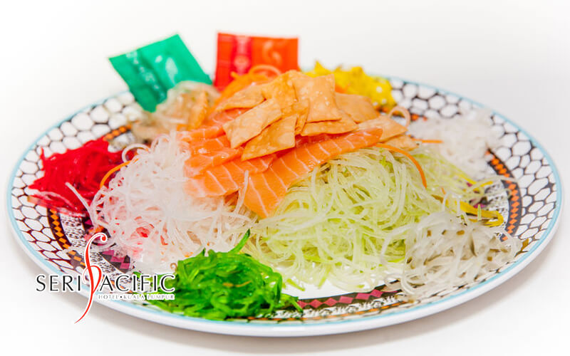 [CNY] One (1) Pear and Mango Yee Sang