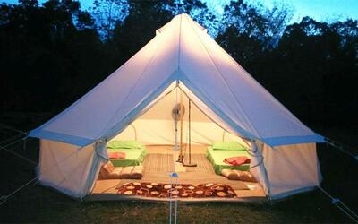 Bentong: 3D2N Stay In Luxury Tent with English Breakfast for 1 Person