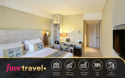 [FAVE Travel+] Kubu Anyar: 5D4N at Deluxe Pool View + Breakfast + Return Airport Transfer + 1x Afternoon Tea