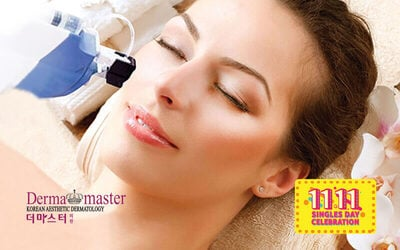 [11.11] 3-Hour Aqua Gold Booster Facial with Free Skin Care Kit for 1 Person