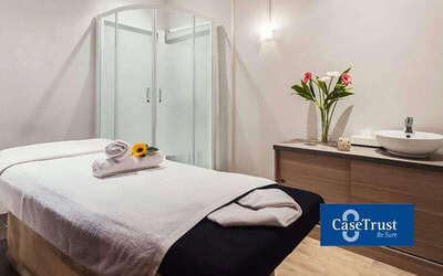 1-Hour Aroma / Swedish Full Body Massage for 1 Person