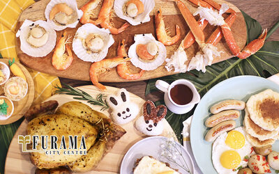 Easter Special Buffet Lunch for 2 People