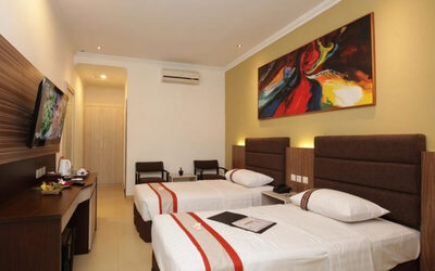 Yogyakarta: 2D1N in Deluxe Room (Room Only)