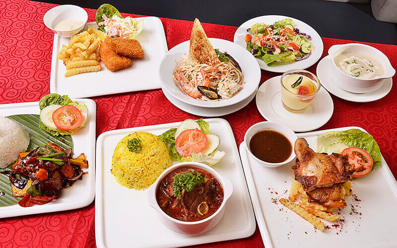 4-Course Lunch Set with Drink for 1 Person