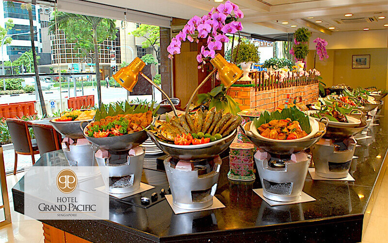 (Mon - Fri) Peranakan Lunch Buffet for 2 People