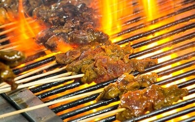 Saturday Pergola Poolside BBQ Buffet Dinner for 4 People