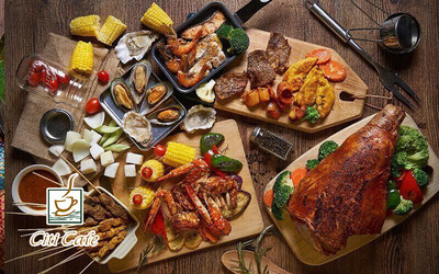 (Fri-Sat) BBQ Buffet Dinner for 2 People