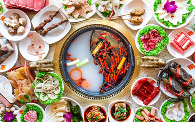 (Mon - Thu) Ma La Kong Jian Hotpot Buffet for 3 People