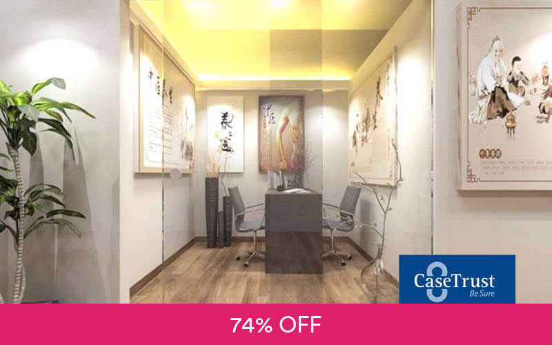 1 Hour Tcm Yang Sheng Therapy Acupuncture And Cupping Gua Sha For 1 Person 3 Sessions
