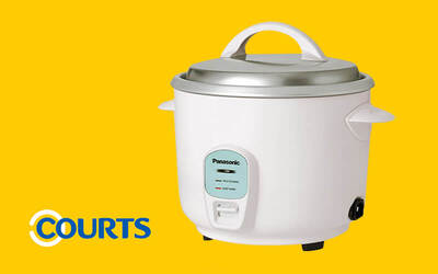 One (1) Panasonic 1.8L Rice Cooker