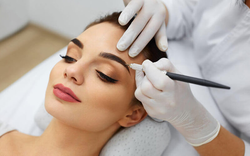 Eyebrow Embroidery + Shaping + Touch-Up for 1 Person