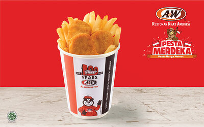 Pesta Merdeka: Chunks & Fries