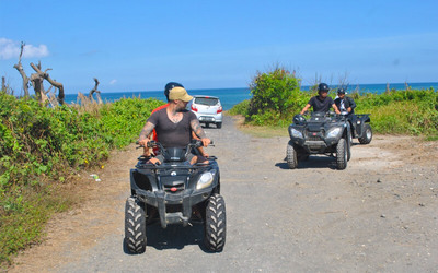 Gianyar: Tandem ATV at The Beach
