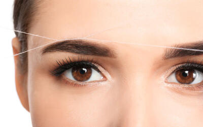 Eyebrow Threading for 1 Person (4 Sessions)