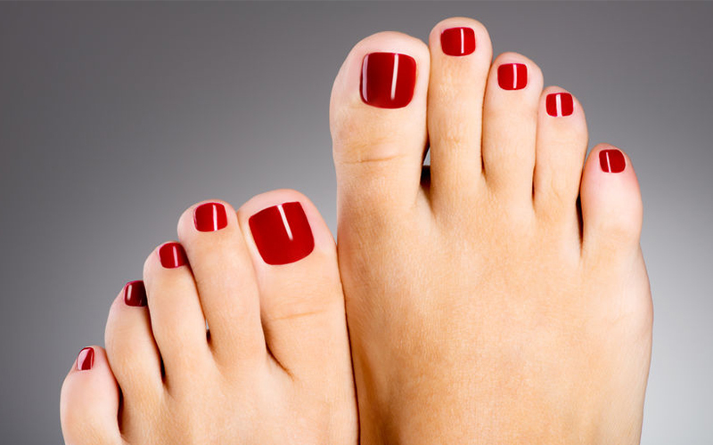 1 Hour Gel Pedicure for 1 Person