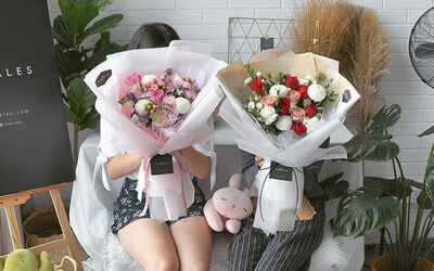 RM50 Cash Voucher for Bouquets, Gift Boxes, and More