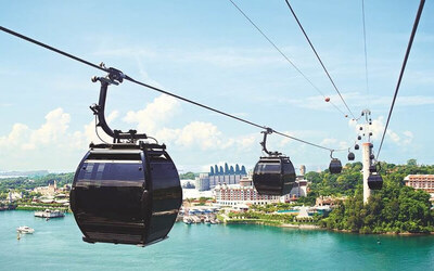 Child - Cable Car 2 Way + Butterfly Park  + Insect Kingdom + Bird Feeding + Segway