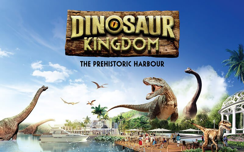 1-Day Pass to Dinosaur Kingdom for 4 People (Family Pack)
