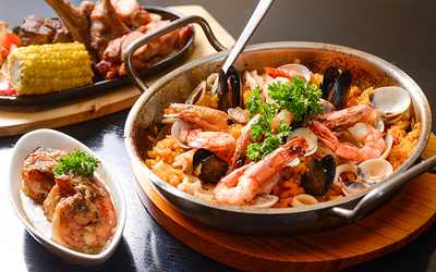 (Saturday) Viva La Vida Spanish Buffet with Free Flow Alcoholic Drinks for 1 Person